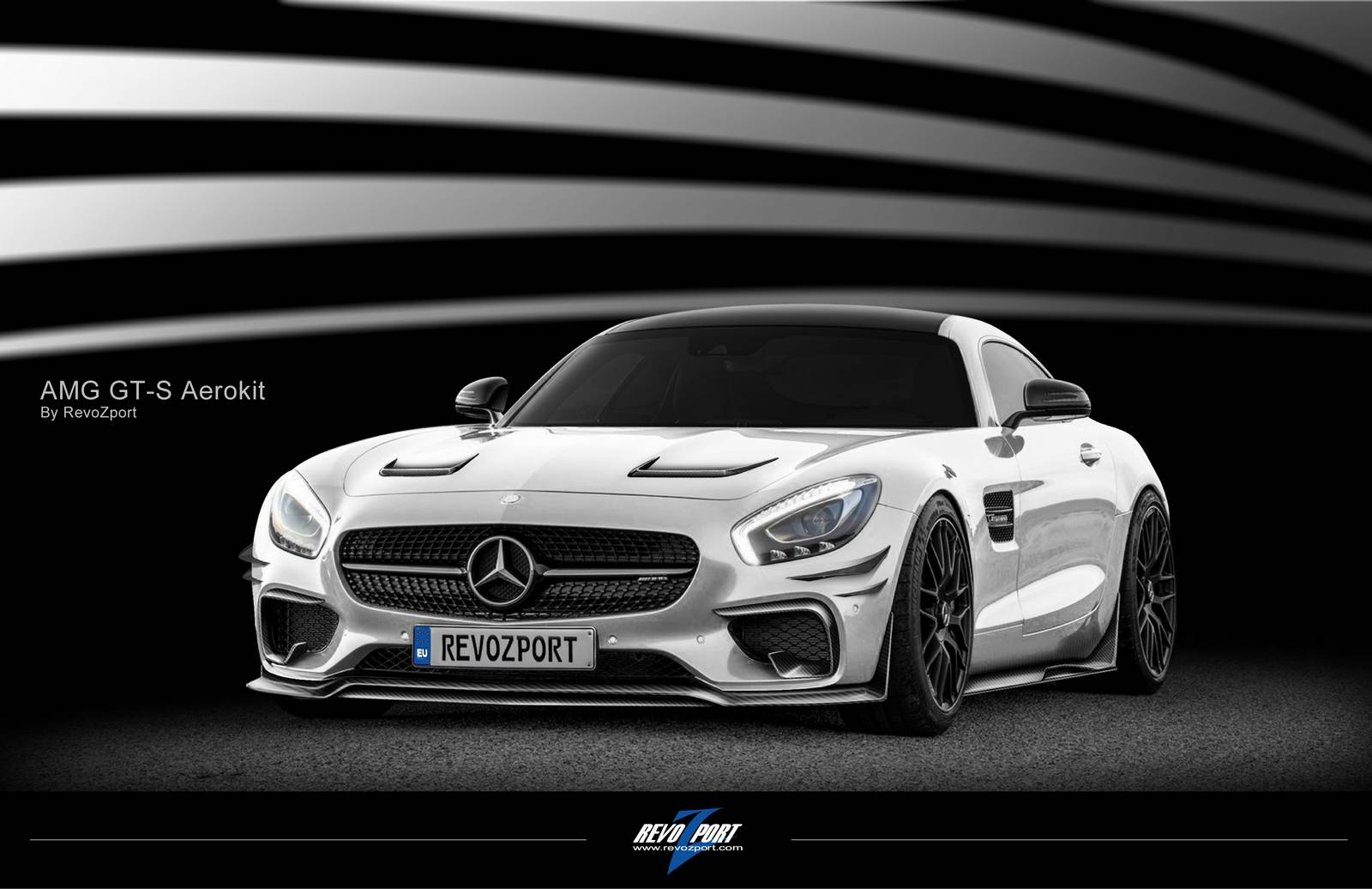 Mercedes amg gts rz wide body kit by revozport carz tuning for Mercedes benz amg kit