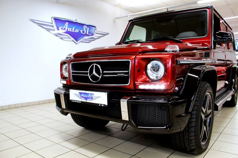 Mercedes G63 AMG Crazy Color Kicks Off at Auto SL GmbH