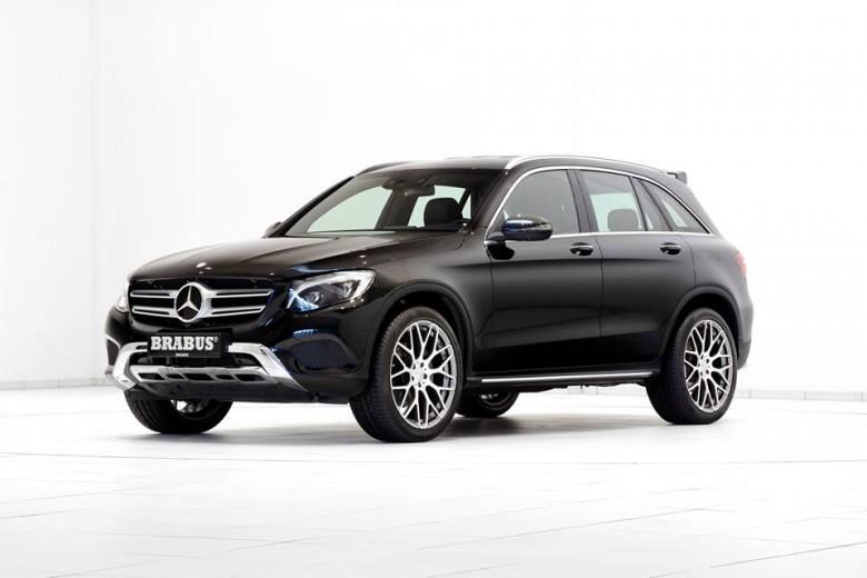Mercedes GLC (GLK) by Brabus Is Ready for 2016 Geneva Motor Show