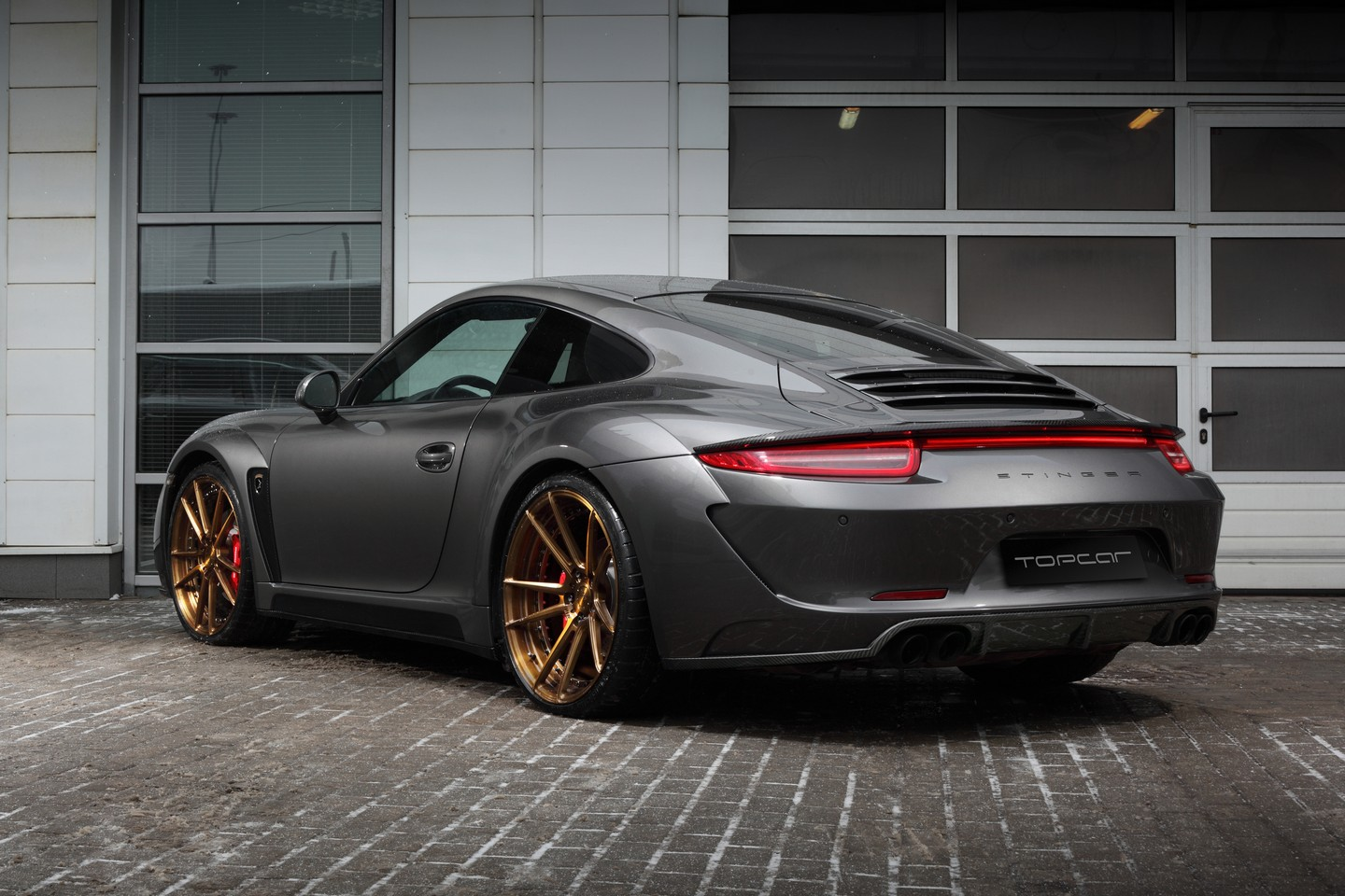 porsche 911 carrera 4s stinger by topcar carz tuning. Black Bedroom Furniture Sets. Home Design Ideas