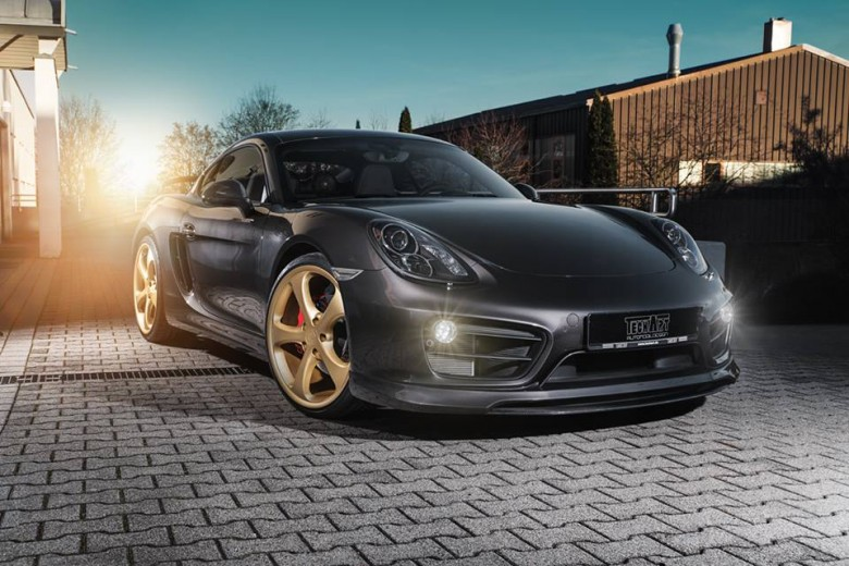 Porsche Cayman S with GT Aero Kit by Techart