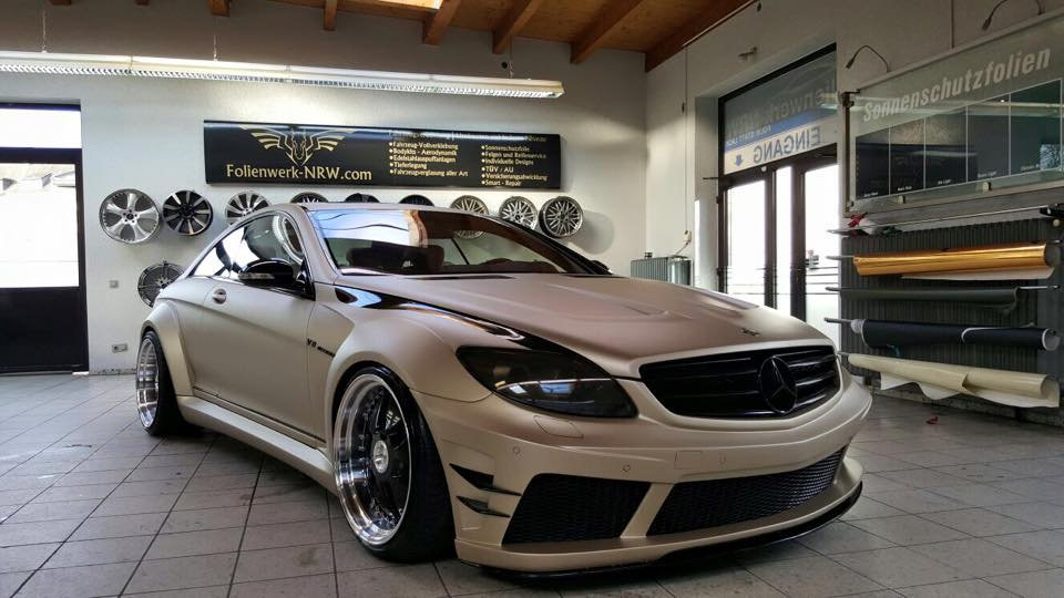 prior design mercedes cl by folienwerk carz tuning. Black Bedroom Furniture Sets. Home Design Ideas
