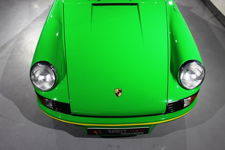 1973 Porsche Carrera RS 2.7 by Tomini Classics of Dubai Is ready for Emirates Classic Car Festival