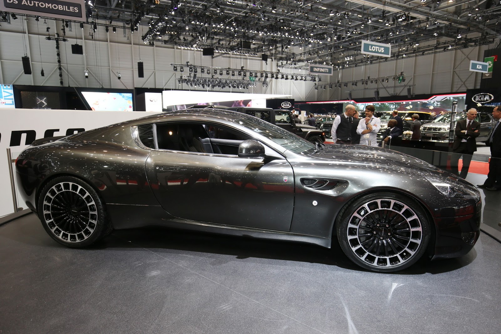 Cool Aston Martin Vengeance By Kahn 6 Images  Carz Tuning