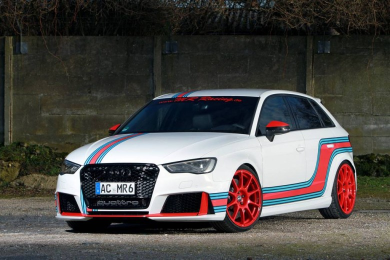 Audi RS3 by MR Racing Packs Great Output
