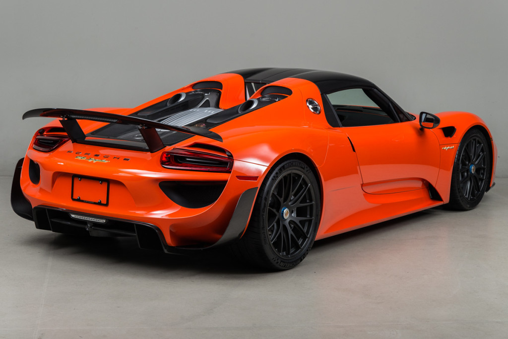 continental orange porsche 918 with weissach package looks exotic carz tuning. Black Bedroom Furniture Sets. Home Design Ideas