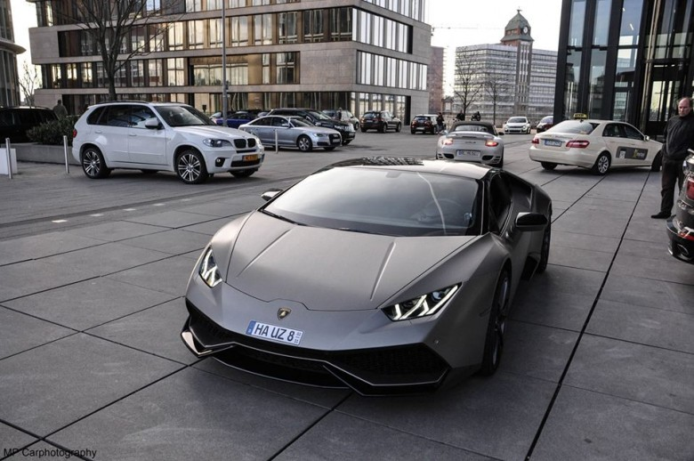 Lamborghini Huracan Steel Edition by M&D Exclusive Is Looking Smashing