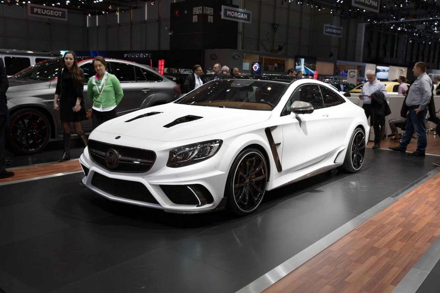 Mercedes amg gle63 coupe s63 coupe g63 with tuning for Mercedes benz amg kit