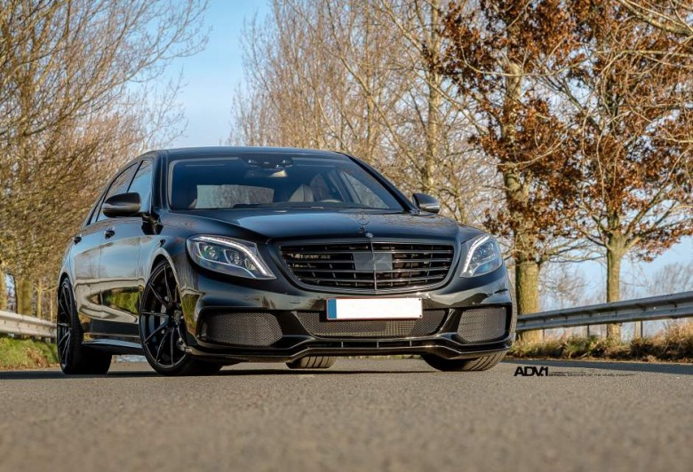 Mercedes S63 AMG Sits on ADV.1 Wheels