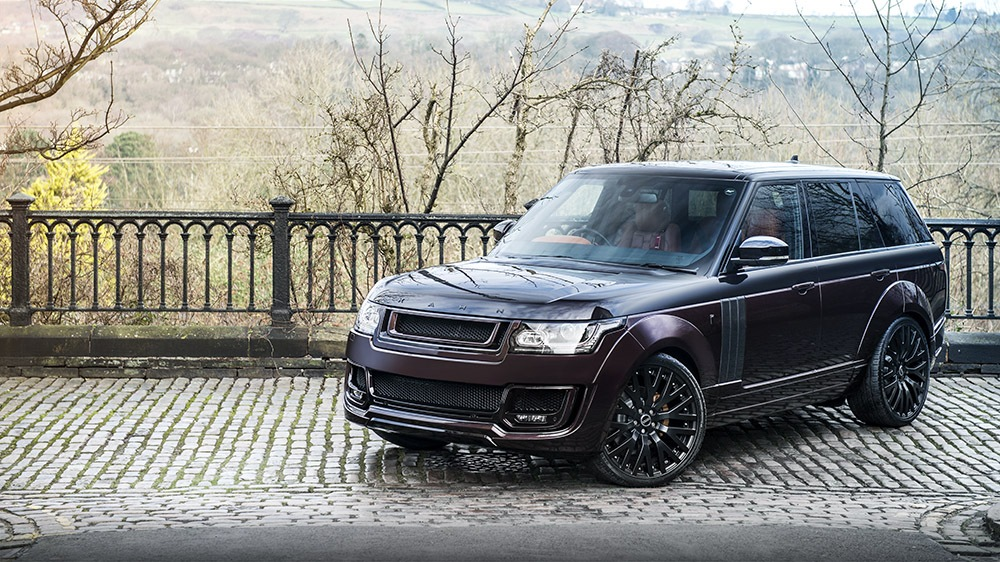 range rover rs with full visual tweaks from kahn design carz tuning. Black Bedroom Furniture Sets. Home Design Ideas