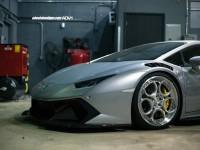 Vorsteiner Lamborghini Huracan Sits on ADV.1 Wheels