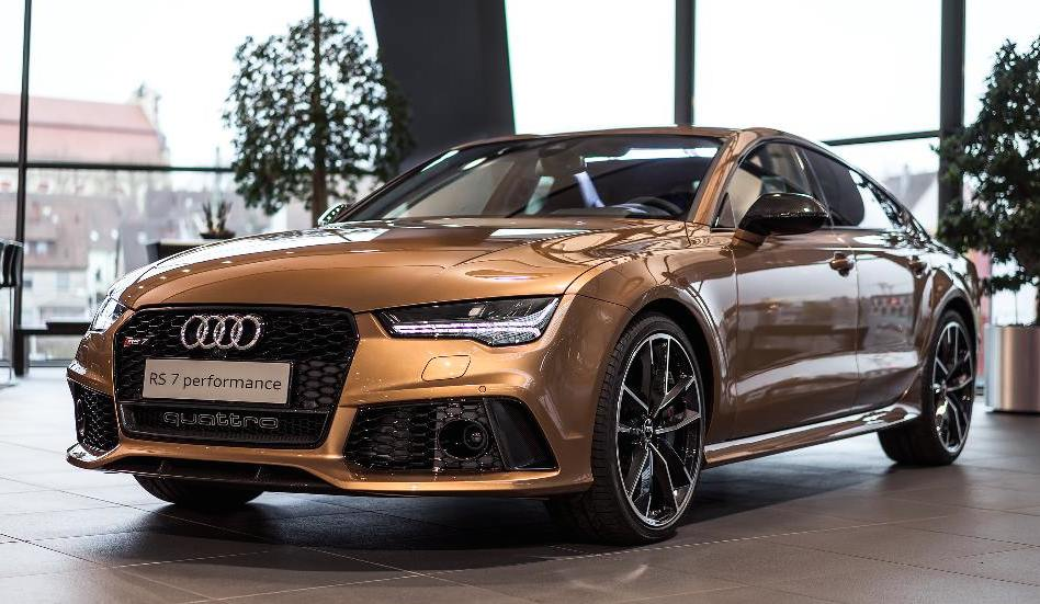 audi rs7 exclusive looks a killer in zanzibar brown carz. Black Bedroom Furniture Sets. Home Design Ideas