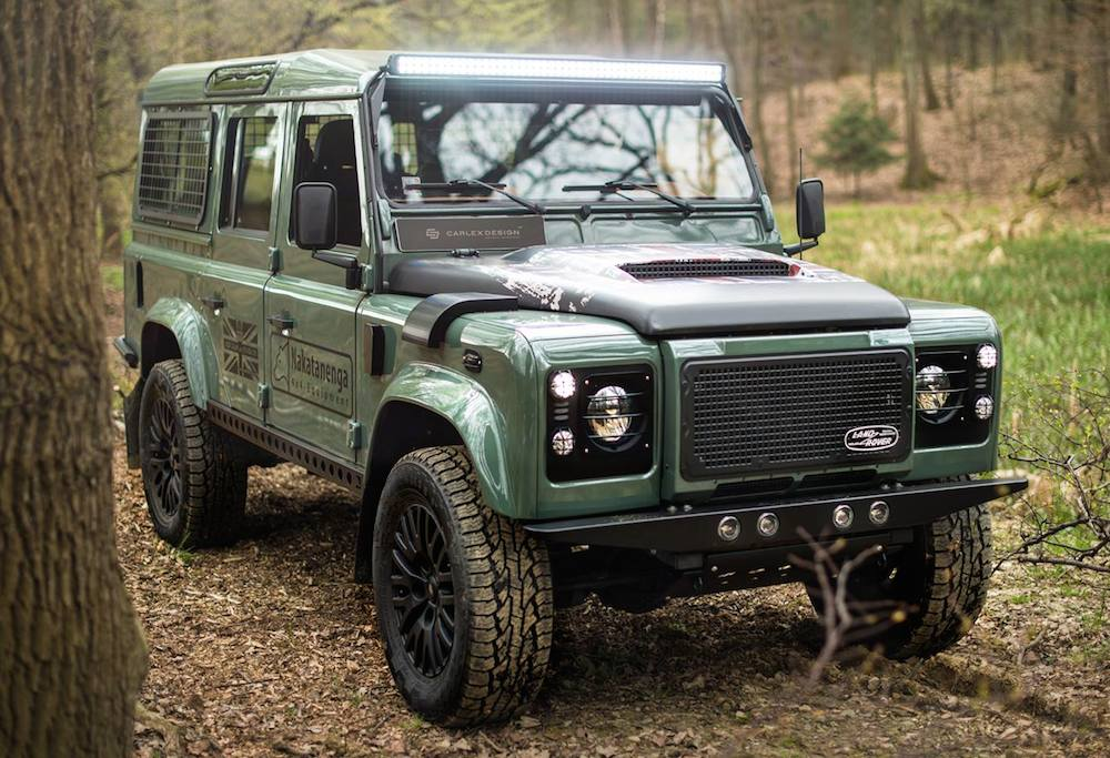 land rover defender nakatanenga by carlex design carz tuning. Black Bedroom Furniture Sets. Home Design Ideas