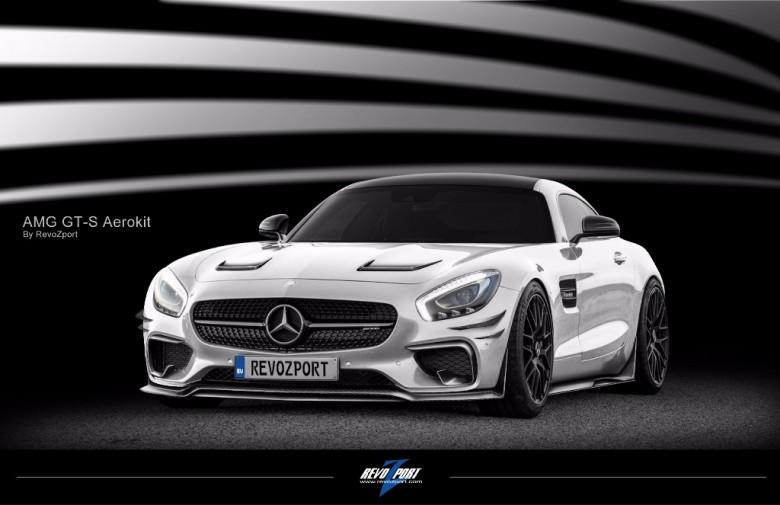 Mercedes AMG GT by RevoZport