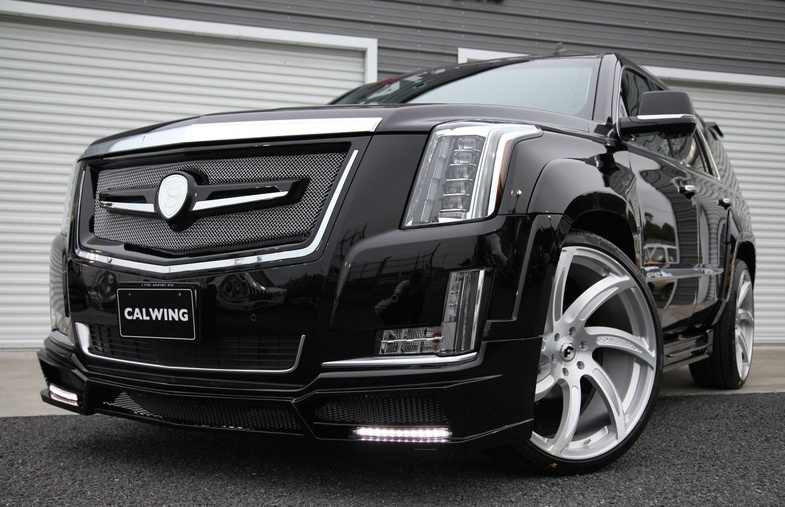Cadillac Escalade by Calwing Is a Real Beast | Carz Tuning