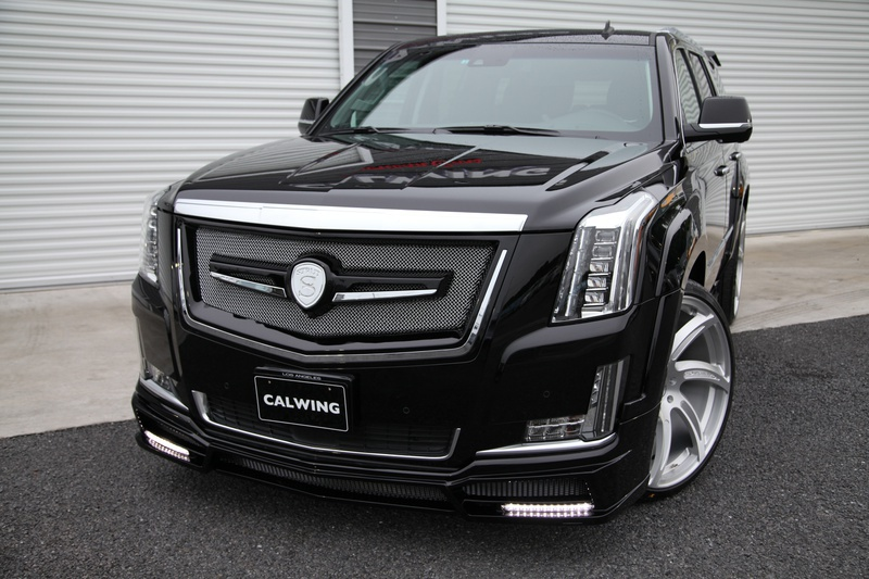 2020 Cadillac Escalade >> Cadillac Escalade by Calwing Is a Real Beast | Carz Tuning