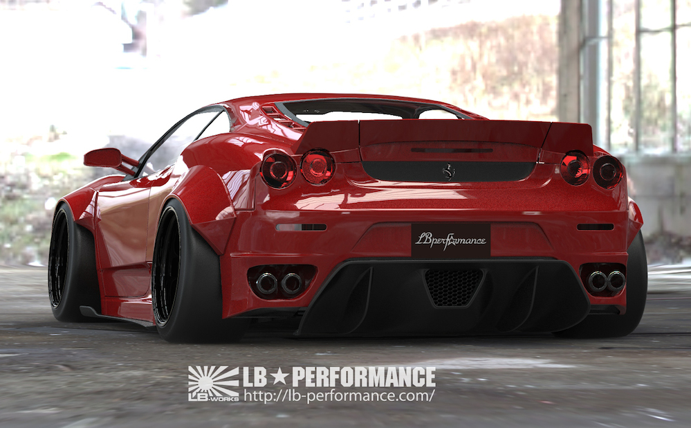 Iconic Ferrari F430 Gets Killer Wide Body From Liberty