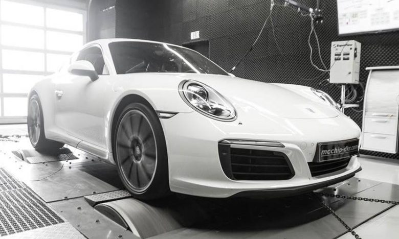 How about a Porsche 911 Carrera with Mcchip-DKR`s Favorite Power Kit?