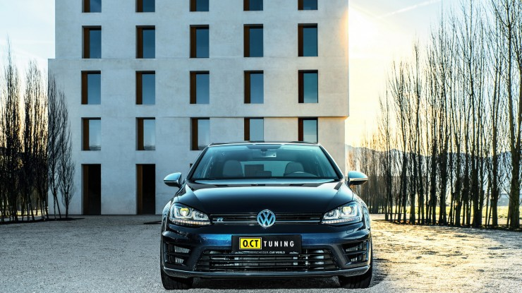 Volkswagen Golf R Power Upgrades by O.CT Tuning