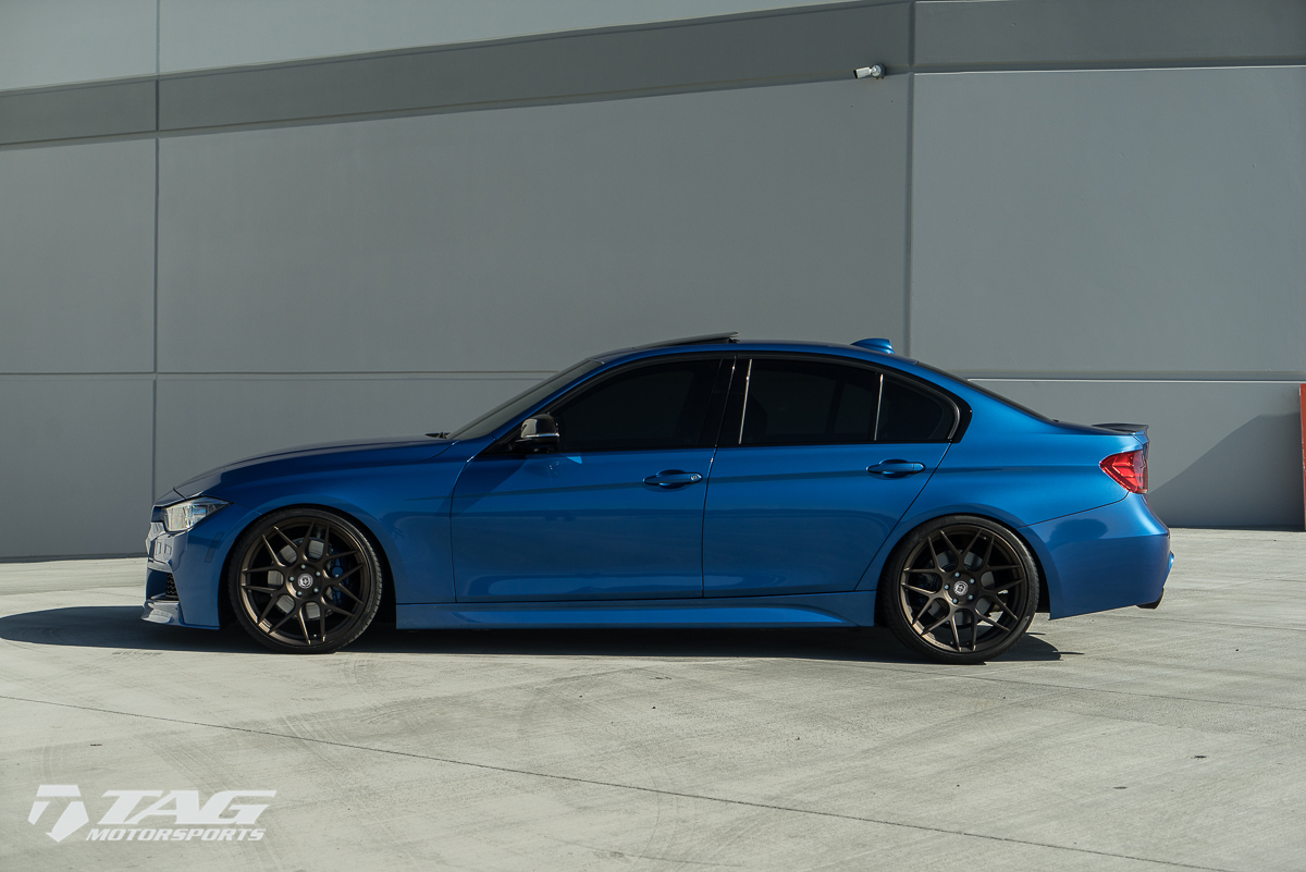 bmw f30 hre wheels dress up f30 bmw 3 series with special alloys