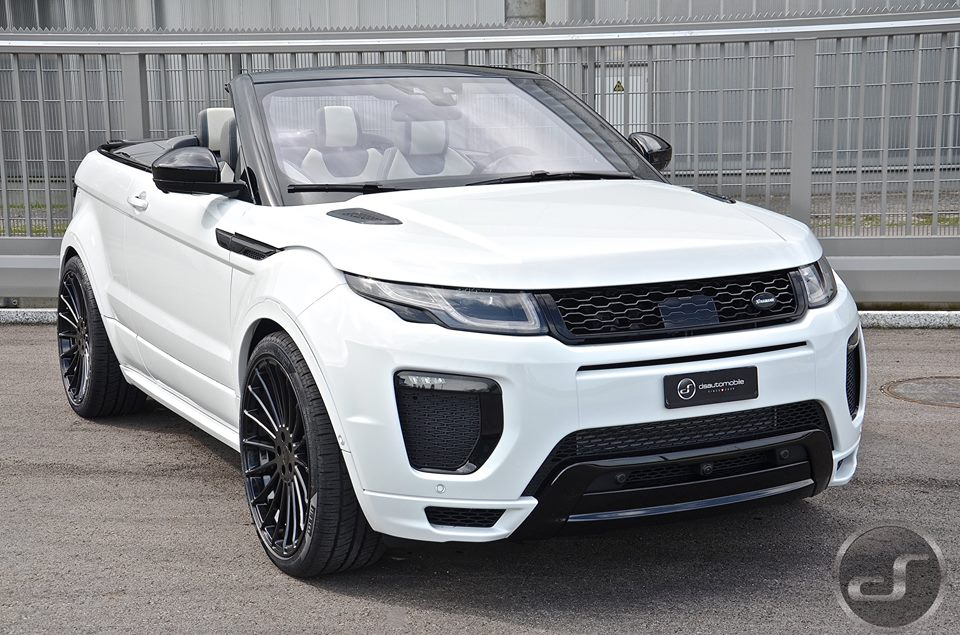 hamann range rover evoque cabrio by ds automobile is a. Black Bedroom Furniture Sets. Home Design Ideas