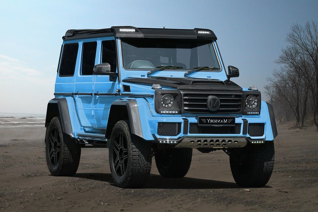mercedes g500 4x4 by mansory kicks off carz tuning. Black Bedroom Furniture Sets. Home Design Ideas