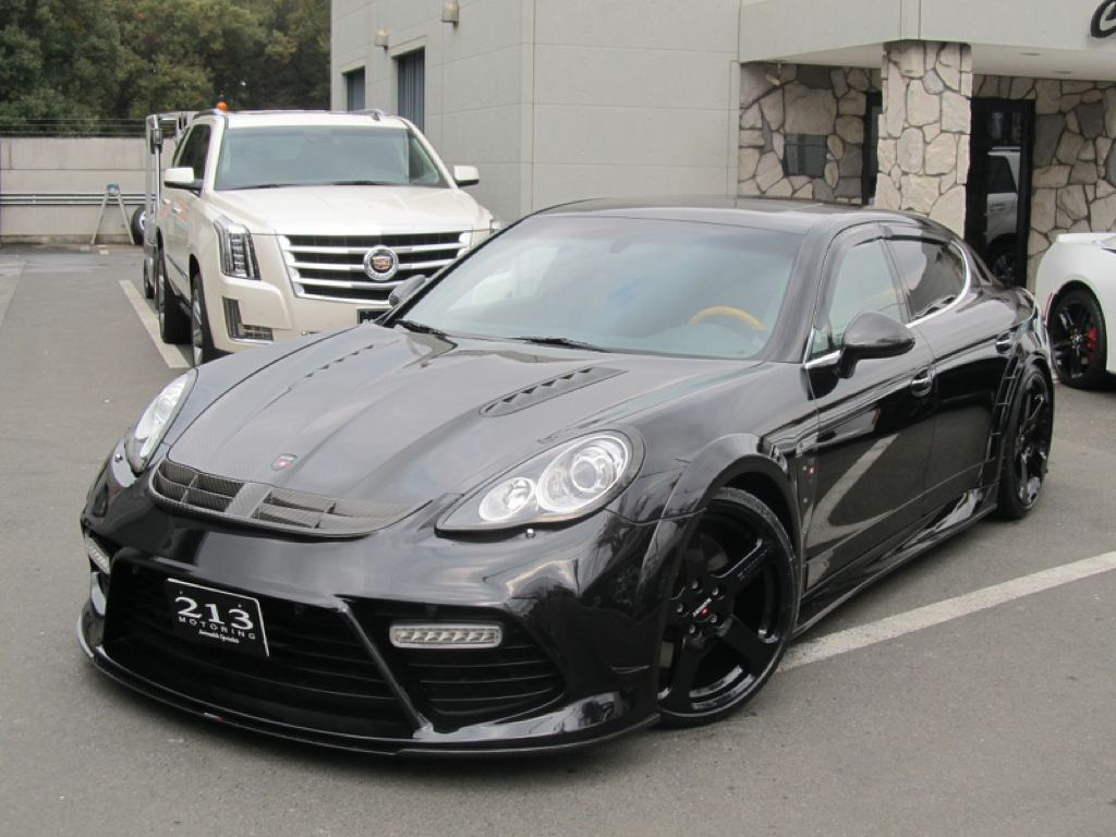 Porsche Panamera Is Back Into The Business With Another Sensational Mansory Kit Entire Installation Being Carried Out By 213 Motoring