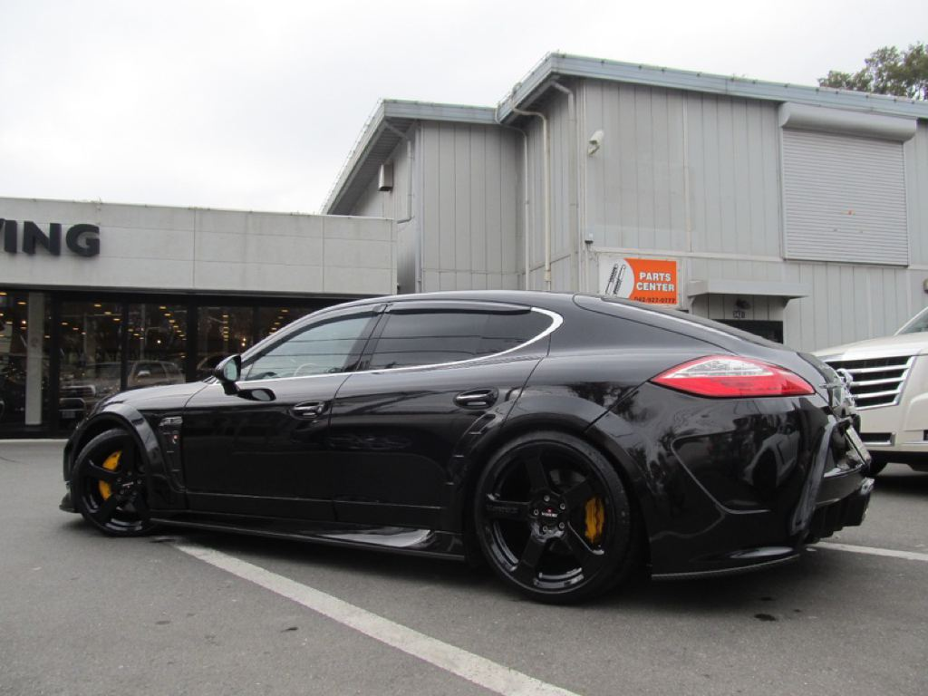 One Off Porsche Panamera With Mansory Body Kit By Calwing