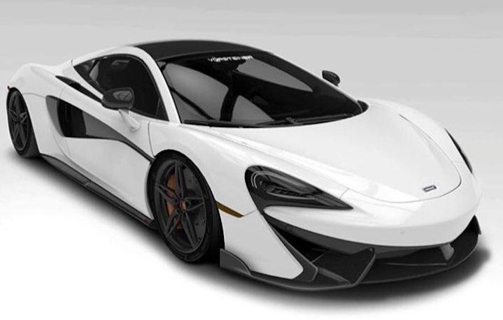 Vorsteiner McLaren 570S Previewed in Rendering