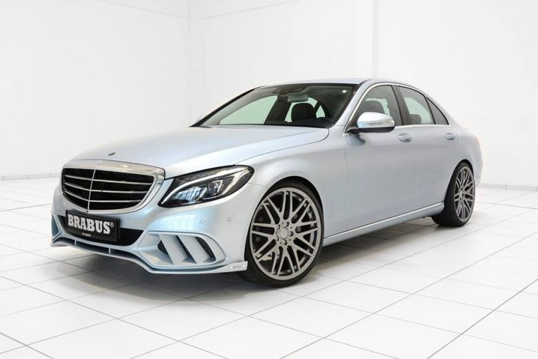 "Brabus ""Shapes"" the Rugged Character of the C-Class Sedan and Wagon"