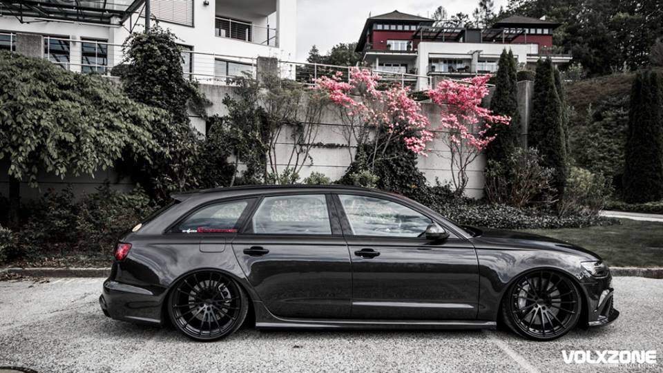Audi Rs6 Receives Carbon Fiber Kit From Tuner Carz Tuning