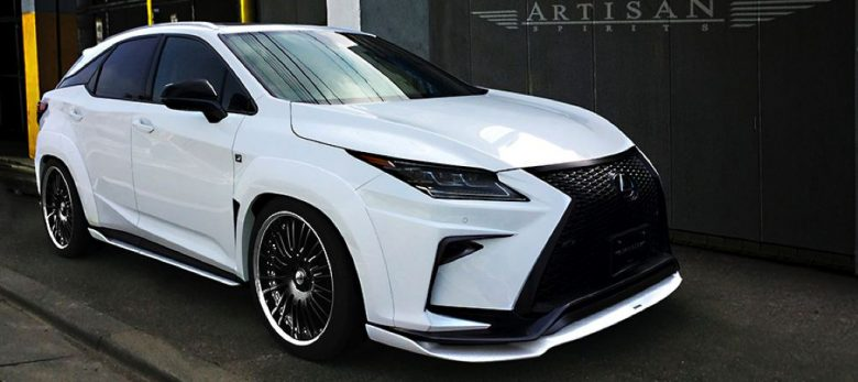 Lexus RX Wide Body Kit by Artisan Spirits Tuner Looks Insane