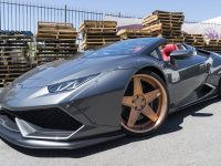 Liberty Walk Lamborghini Huracan Spyder Sits on Massive Forgiato Wheels