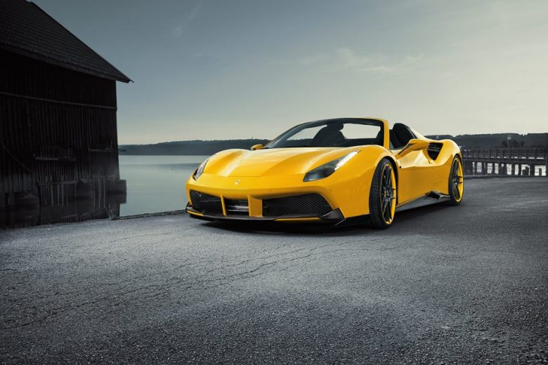 Video and Photo Gallery: Novitec Rosso Ferrari 488 Spider Is Out of the Box and Looks Smashing