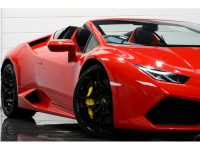 Smashing Rosso Mars Lamborghini Huracan Spyder Is Up for Grabs in the UK