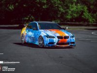 E92 BMW M3 gets Amazing Body Wrap from Diaz Plus