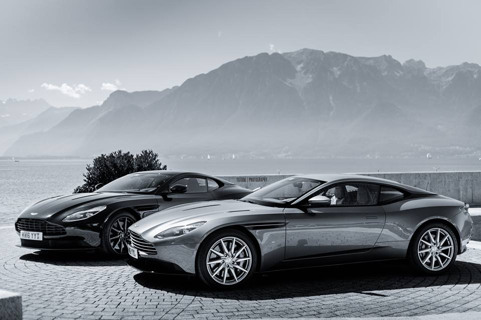 Switzerland Aston Martin Db11 Plays Hard To Get In Photo Session