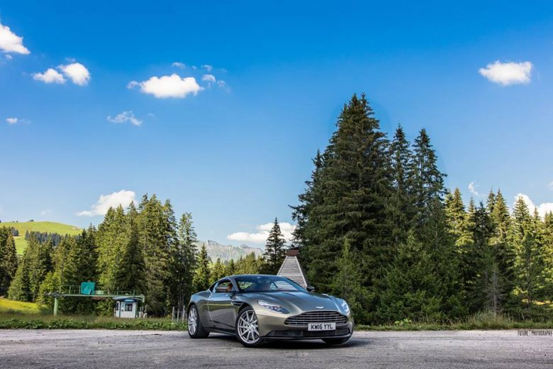 Switzerland: Aston Martin DB11 Plays Hard to Get in Photo Session
