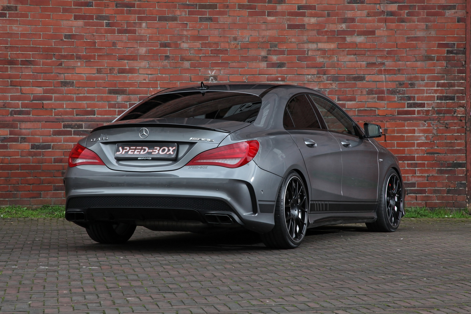 mercedes amg cla 45 facelift by sr sounds more powerful. Black Bedroom Furniture Sets. Home Design Ideas