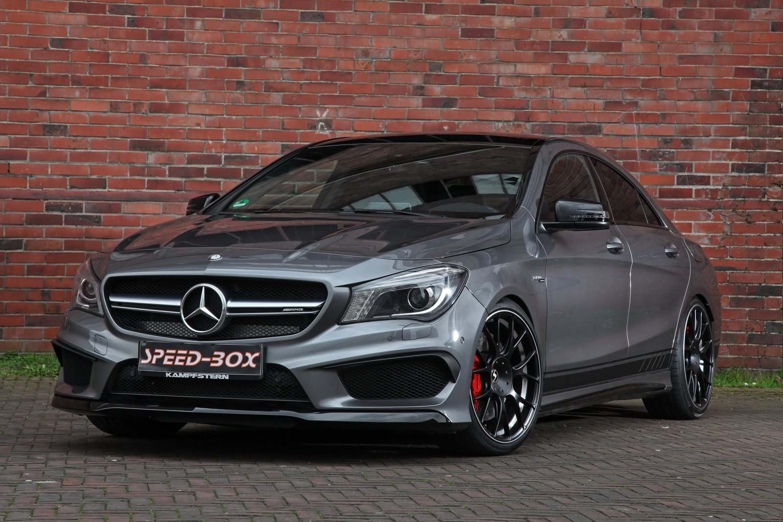 mercedes amg cla 45 facelift by sr sounds more powerful carz tuning. Black Bedroom Furniture Sets. Home Design Ideas