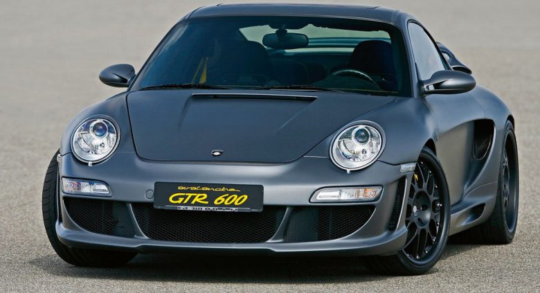 Gemballa Upgrades Porsche 911 Turbo with Avalanche GTR 600 Kit