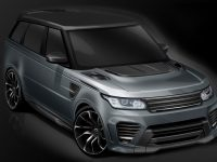 Range Rover Sport SVR Receives Make-overs from Overfinch