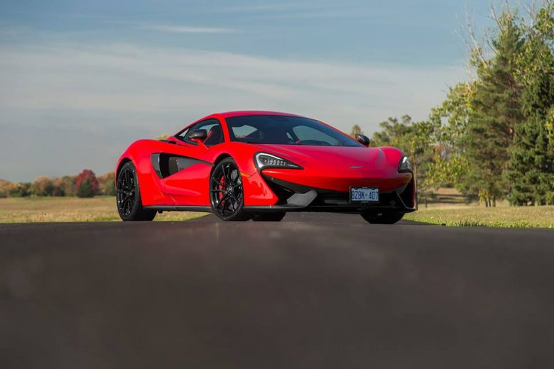McLaren 570S in Vermillion Red by MSO Looks Smashing