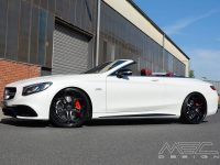 Mercedes S63 Cabrio by MEC Design Is ready for Photo Session