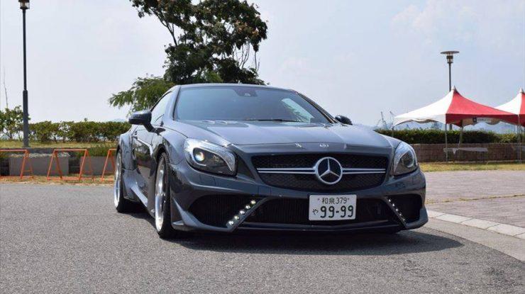 Mercedes SL63 AMG by VITT Squalo Looks Smashing in Grey
