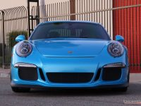 Pearl Bahama Blue Porsche 911 GT3 RS Looks Smashing with the Impressive Wrap`s Styling Kit
