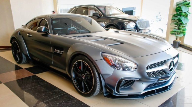 Abu Dhabi Receives Smashing Mercedes AMG GT with Prior Design Detailing