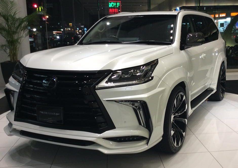 2016 Lexus LX 570 with Black Label Wide Kit by Artisan ...