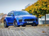 Blue Porsche Macan with Impressive Styling Package by Prior Design