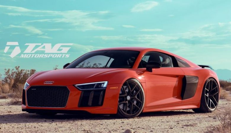 Dynamite Red Audi R8 V10 Plus by Tag Motorsports Is a Real Killer